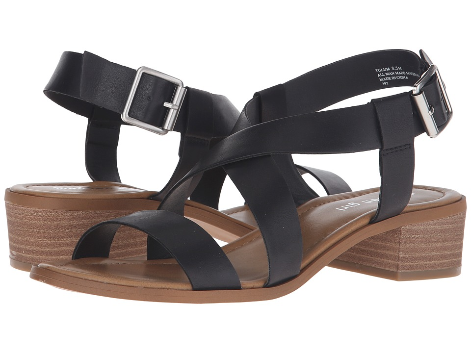 Madden Girl - Tulum (Black Paris) Women's Sandals