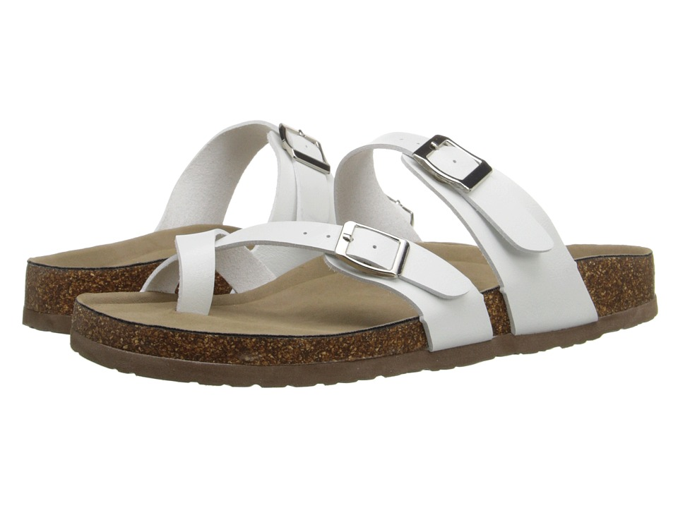 Madden Girl - Bryceee (White Paris) Women's Sandals
