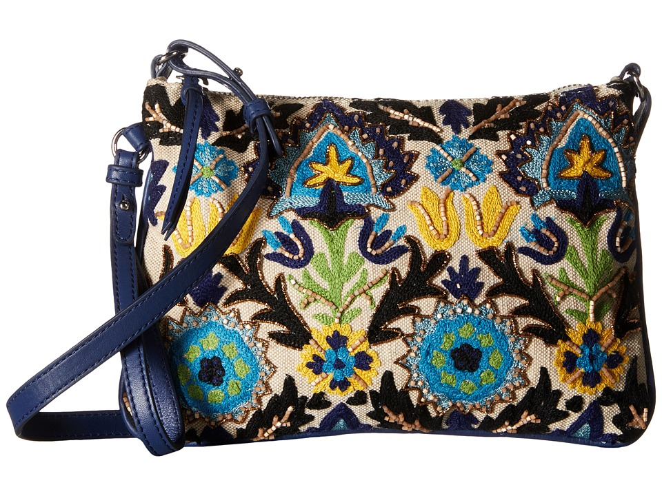 Sam Edelman - Kattie (Blues/Embroidery) Handbags