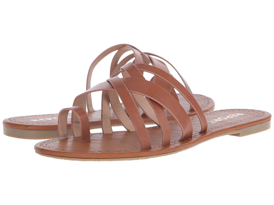 Report - Gyselle (Cognac) Women's Shoes