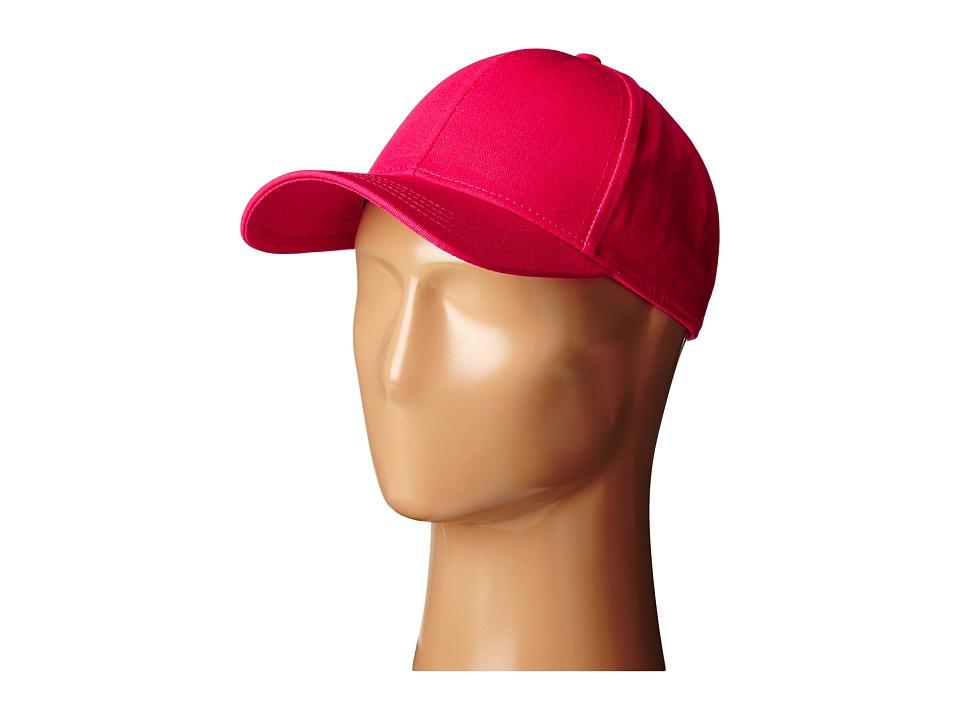 San Diego Hat Company - CTH8027 Cotton Twill Baseball Cap (Fuchsia) Baseball Caps