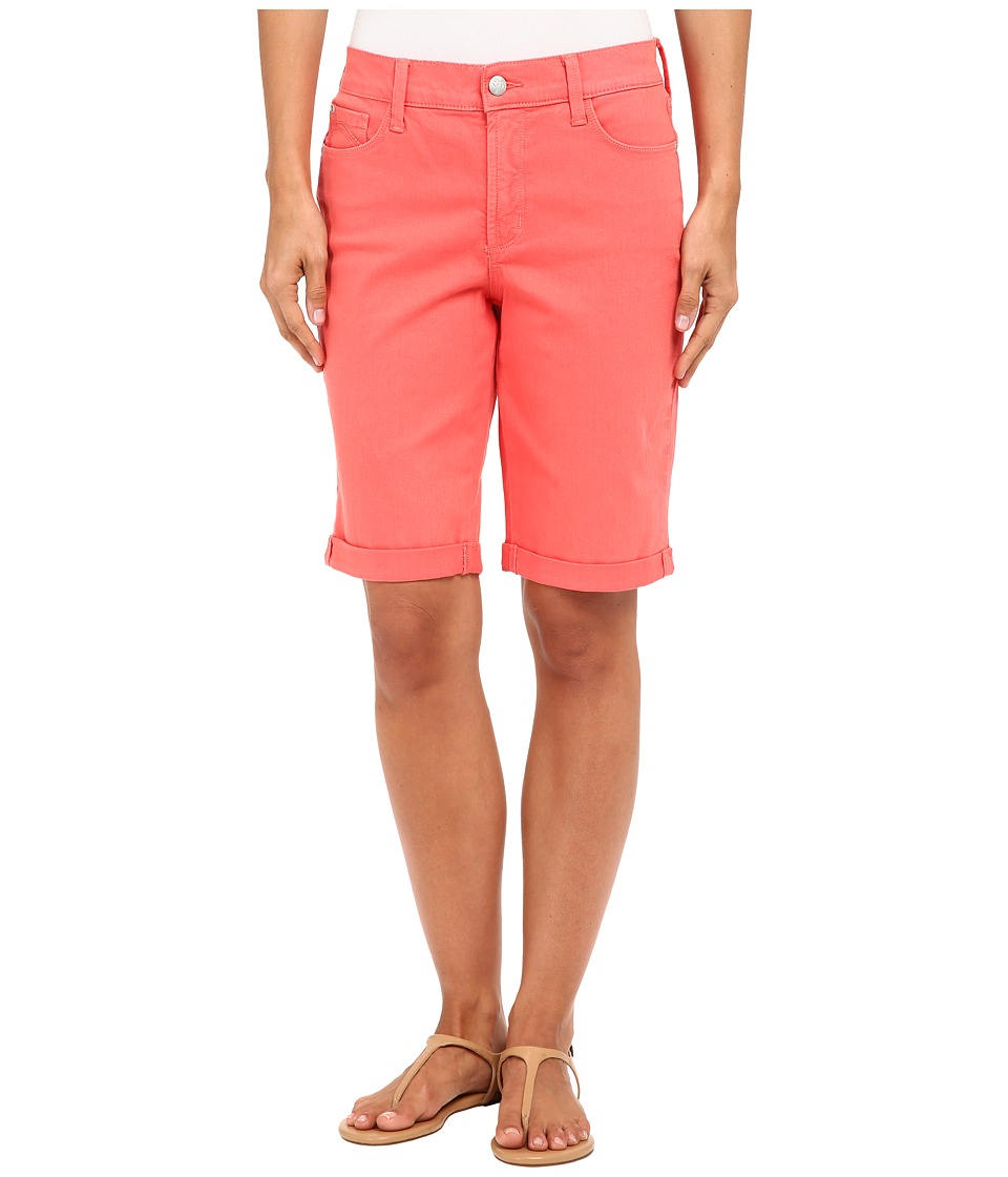 NYDJ - Briella Short (Coral Branch) Women's Shorts