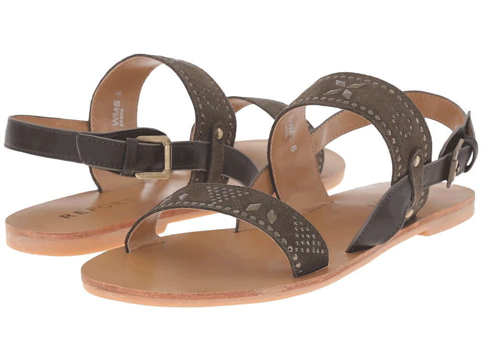 Report - Zasha (Olive) Women's Shoes