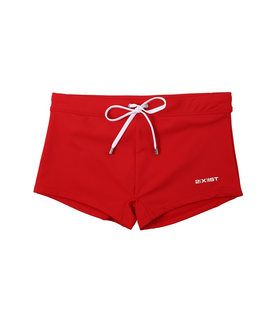 2(X)IST - Essential Cabo (Salsa Red) Men's Swimwear