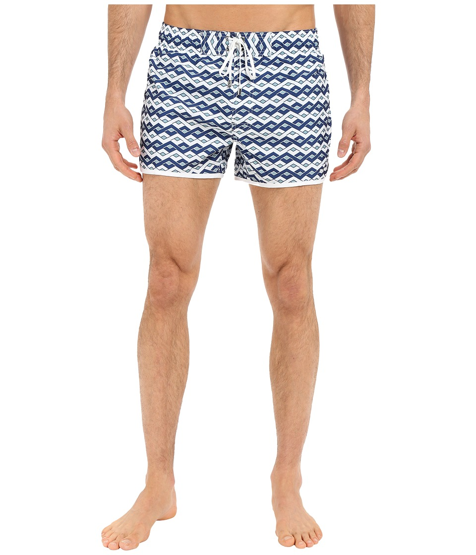 2(X)IST - Jogger (Diamond Stripe/White) Men's Swimwear