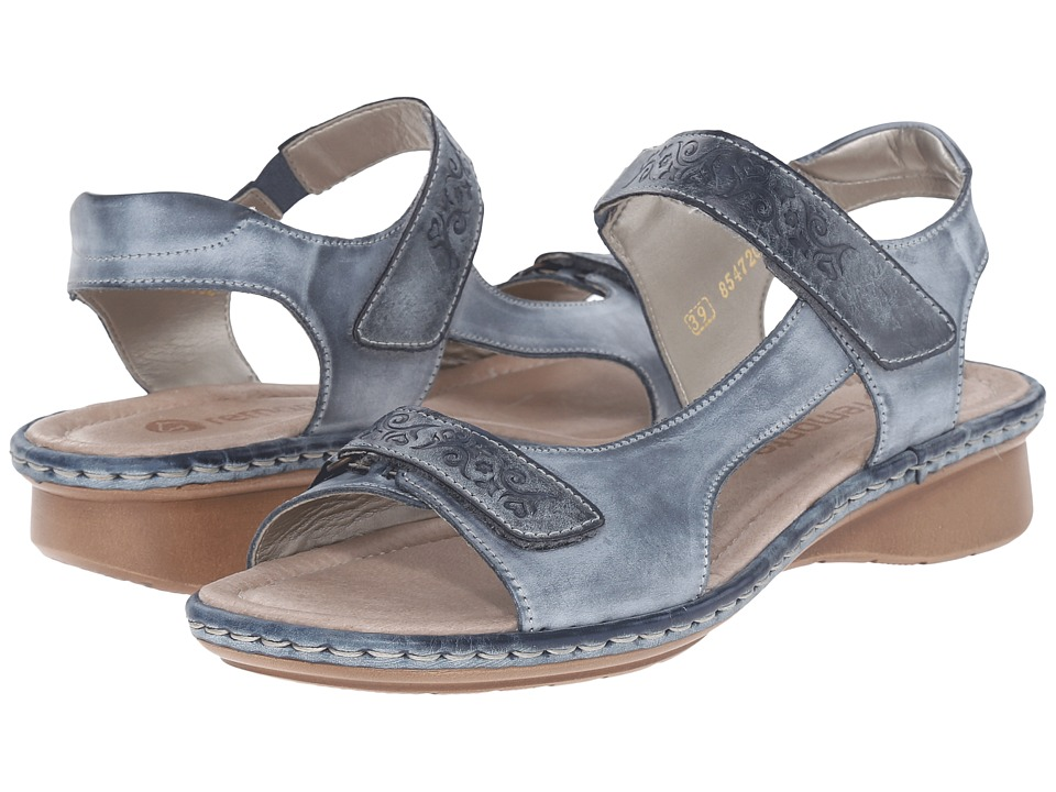 Rieker - D2756 Reanne 56 (Royal/Royal) Women's Sandals