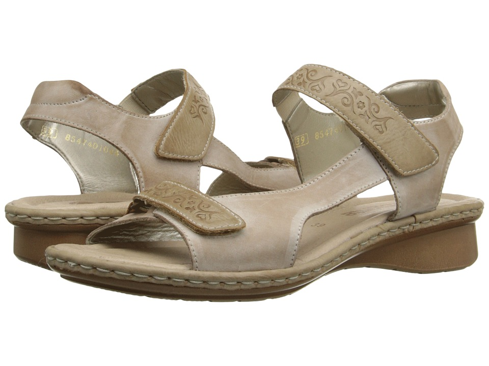 Rieker - D2756 Reanne 56 (Clay/Muschel) Women's Sandals