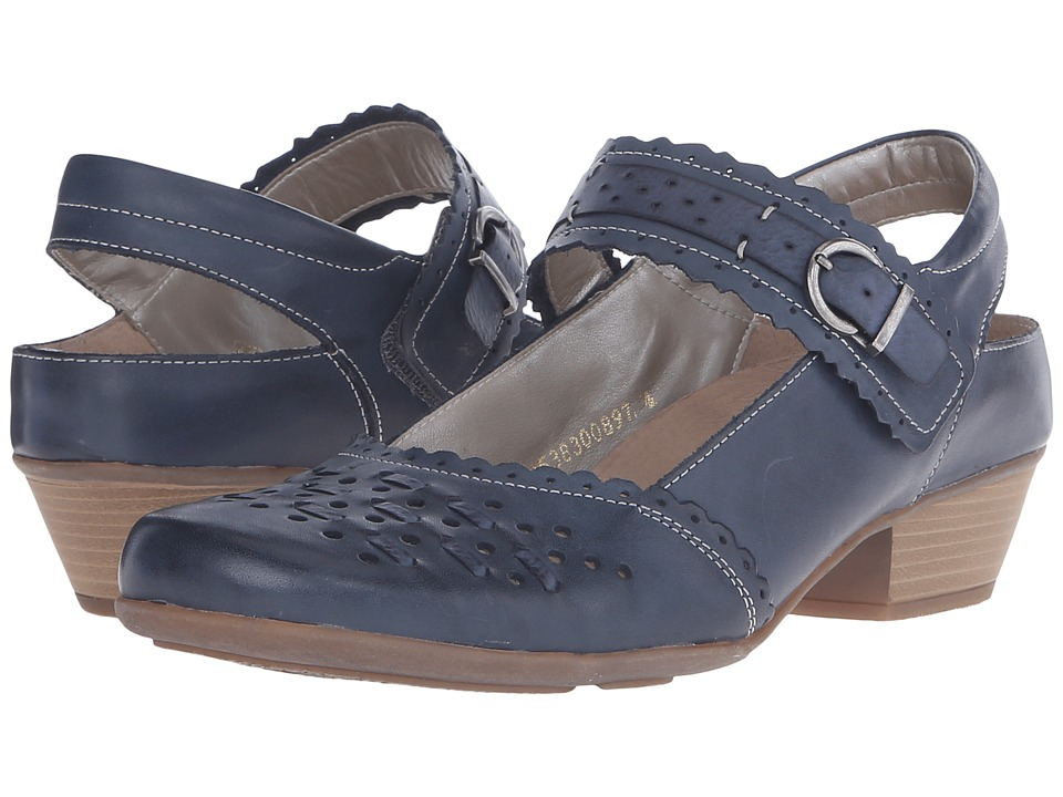Rieker - D7318 Milla 18 (Mare/Ozean) Women's Maryjane Shoes