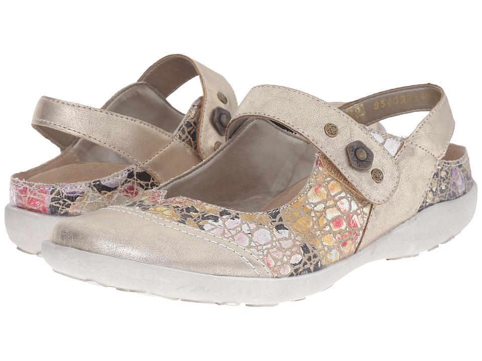 Rieker - R1738 Liv 38 Strap (Platin/Beige) Women's Maryjane Shoes