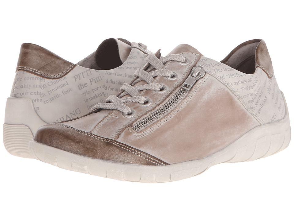 Rieker - R3417 Liv 17 (Taupe/Steel/Ice) Women's Lace up casual Shoes