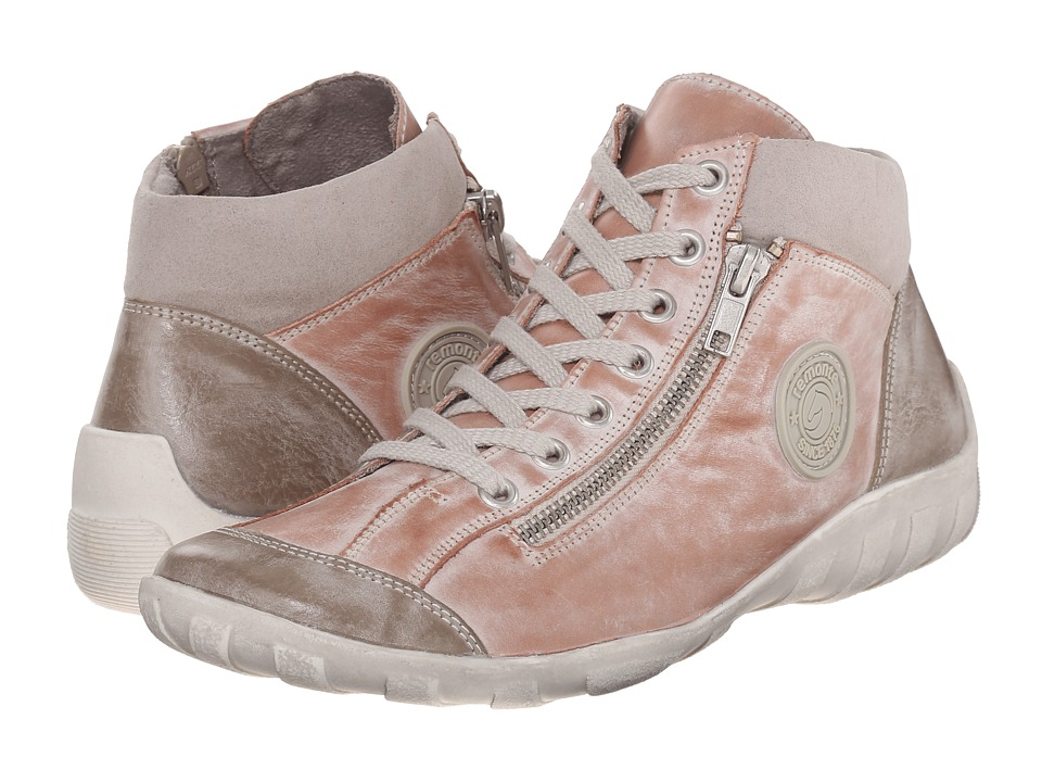 Rieker - R3474 Liv 74 (Steel/Rosa/Grey) Women's Lace up casual Shoes
