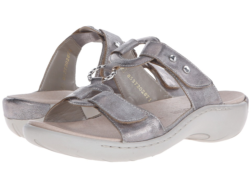 Rieker - R8564 Filippa 64 (Grey) Women's Sandals