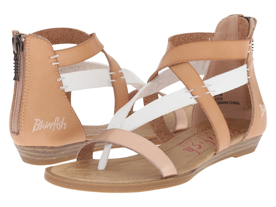 Blowfish Kids - Barker-K (Little Kids/Big Kids) (Nude/Whiskey/Rose Gold) Girl's Shoes