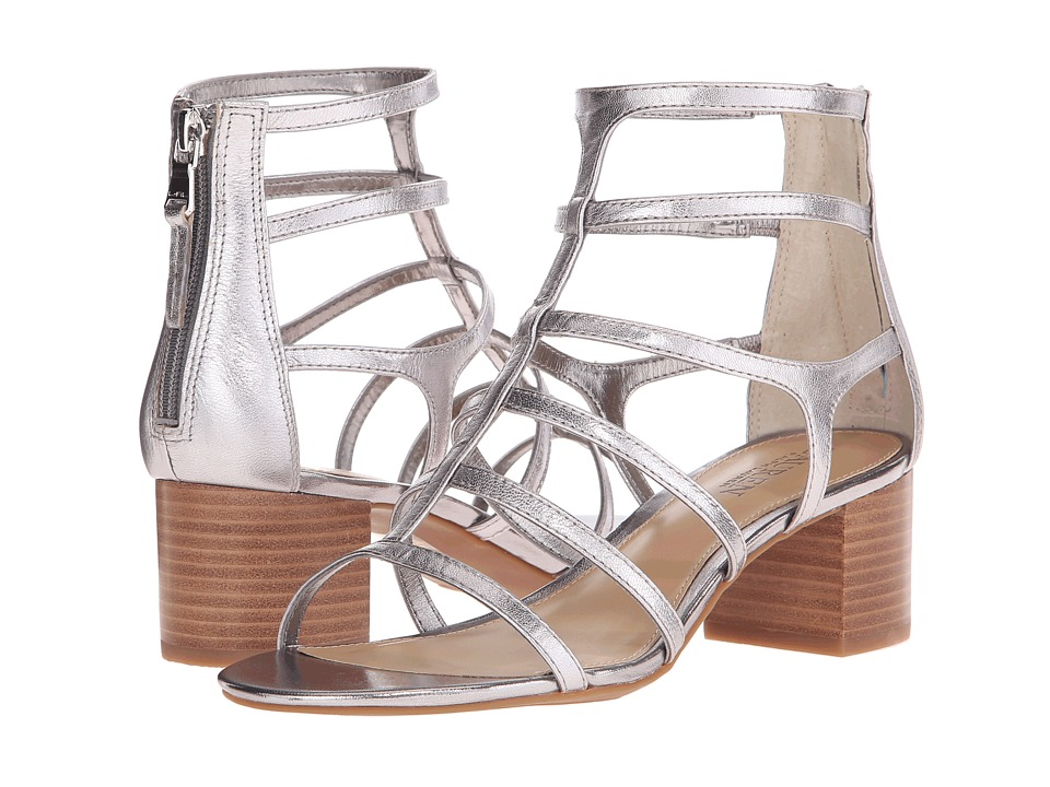 LAUREN Ralph Lauren - Madge (New Silver Metallic Kidskin) High Heels