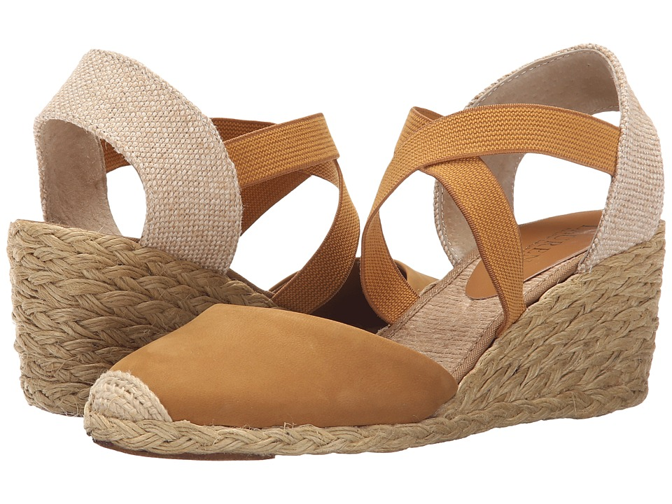 LAUREN Ralph Lauren - Casandra (Toast Elko Nubuck) Women's Wedge Shoes