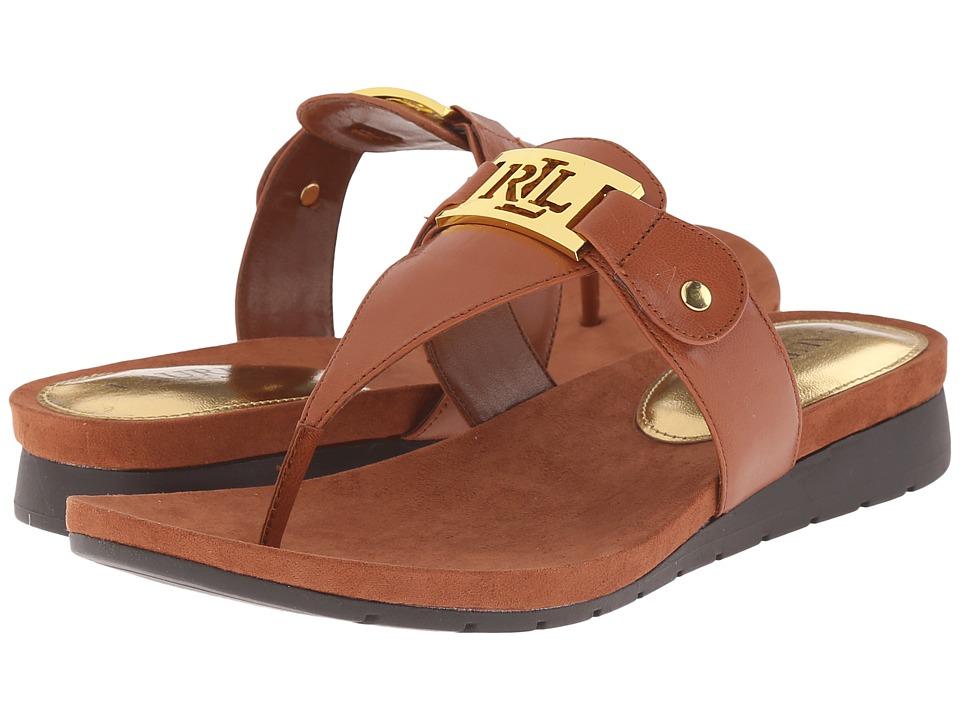 LAUREN Ralph Lauren - Lakin (Polo Tan Kidskin) Women's Sandals
