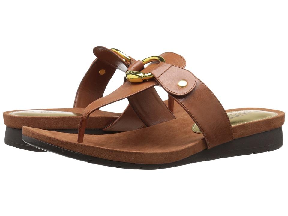 LAUREN Ralph Lauren - Laurence (Polo Tan Kidskin) Women's Sandals