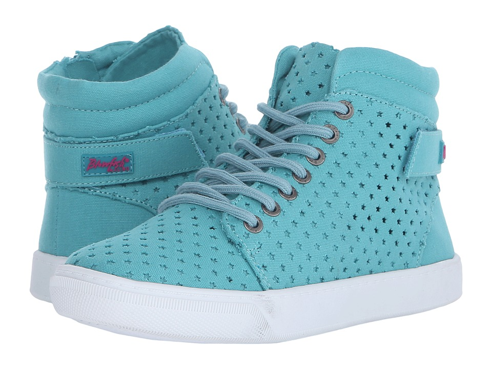 Blowfish Kids Packy-K (Little Kids/Big Kids) (Turquoise Canvas) Girl