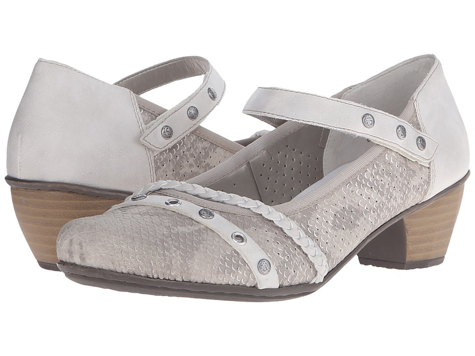 Rieker - 41765 Mariah 65 (Hay/Ice) Women's Maryjane Shoes