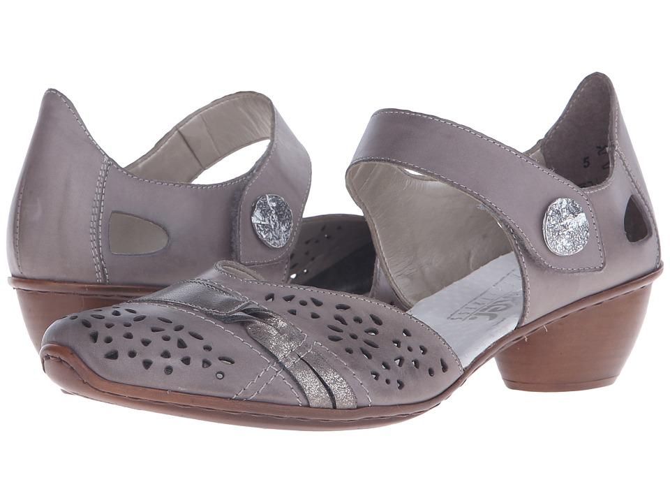 Rieker - 43715 Mirjam 15 (Steel/Oro/Altsilber) Women's Shoes