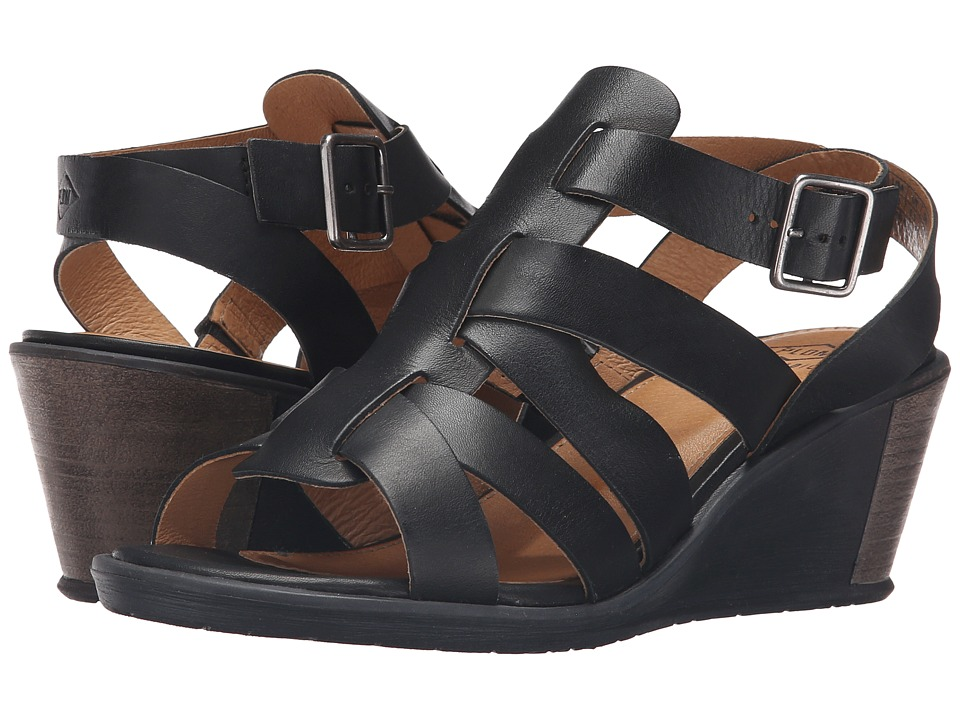 PLDM - Shannon VGT (Black) Women's Wedge Shoes