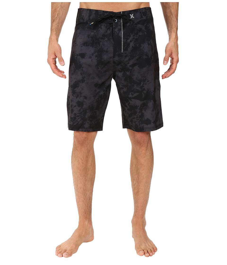 Hurley - Phantom JJF 2 21 Boardshorts (Black) Men's Swimwear