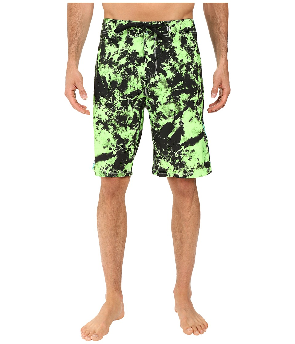 Hurley - Phantom JJF 2 21 Boardshorts (Neon Green) Men's Swimwear