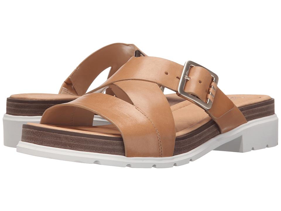Dr. Scholl's - Hellena - Original Collection (Sienna Tan/White Bottom) Women's Sandals