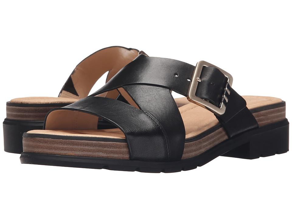 Dr. Scholl's - Hellena - Original Collection (Black/Black Bottom) Women's Sandals