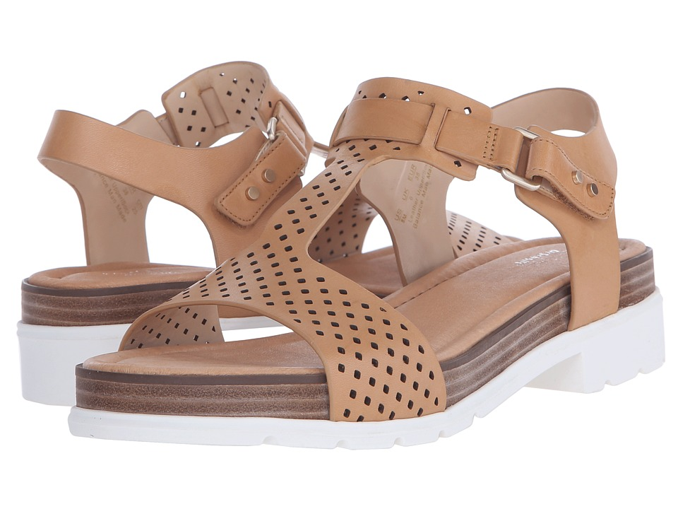 Dr. Scholl's - Hinda - Original Collection (Sienna Tan Perf/White Bottom) Women's Sandals