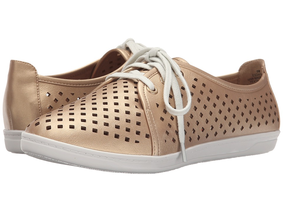 Easy Spirit - Dafina (Gold/Gold Synthetic) Women's Shoes