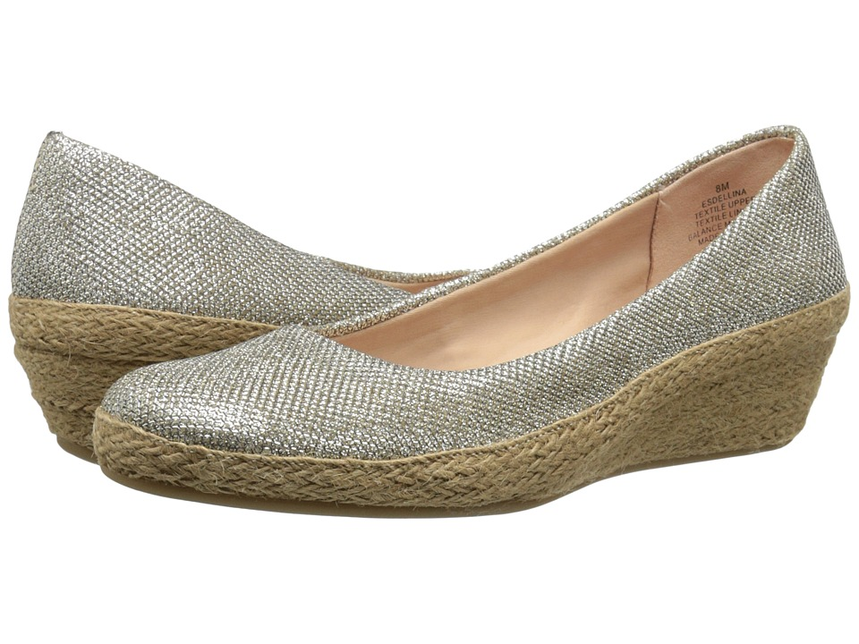Easy Spirit - Dellina (Gold Fabric) Women's Shoes