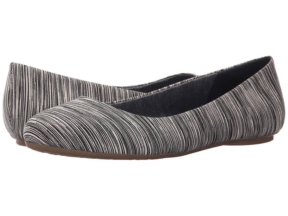 Dr. Scholl's - Really (Black Harmony Stripe) Women's Flat Shoes