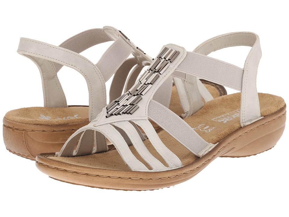 Rieker - 60800 Regina 00 (Ice) Women's Sandals