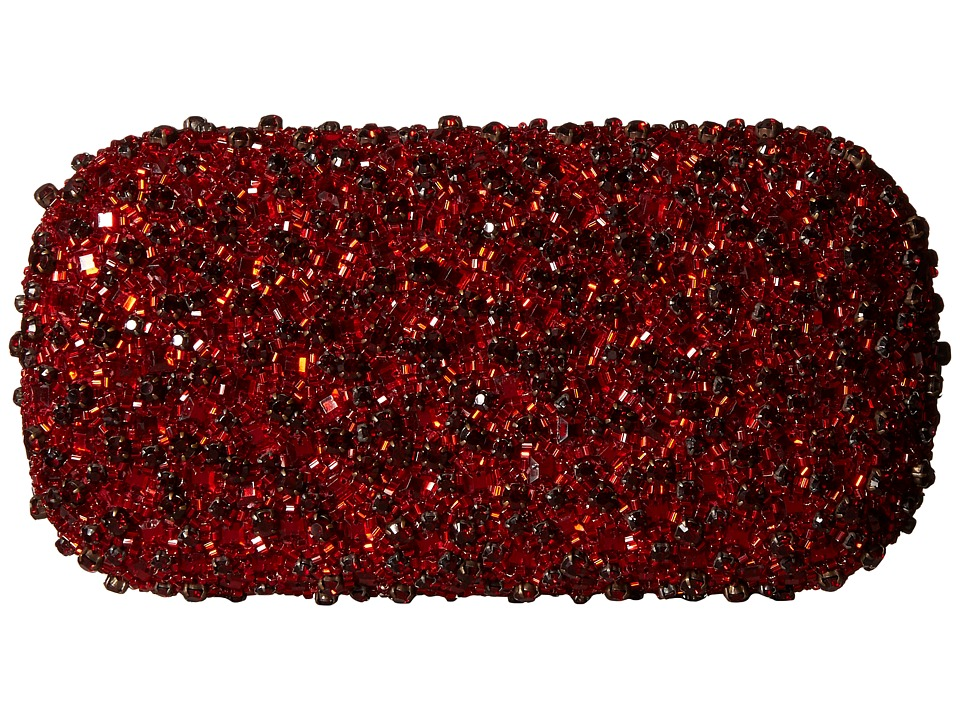 Alice + Olivia - Crystals Large Clutch (Red) Clutch Handbags