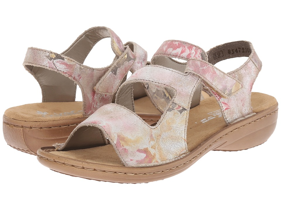 Rieker - 608B1 Regina B1 (Multi) Women's Sandals