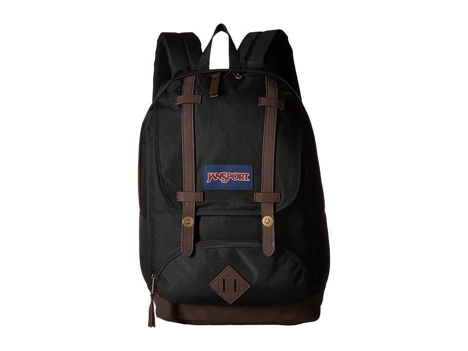 JanSport - Cortlandt Backpack (Black) Backpack Bags