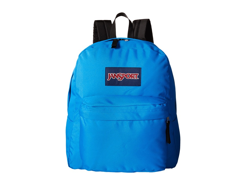 JanSport - Spring Break (Blue Crest) Backpack Bags