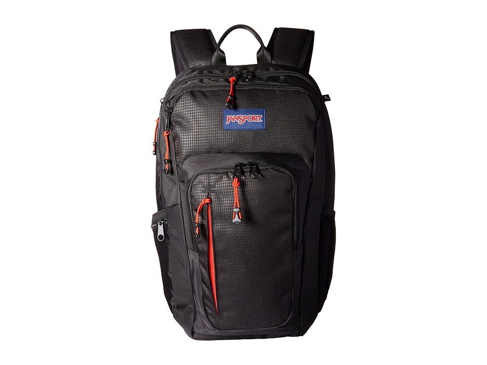 JanSport - Recruit Bag (Black) Backpack Bags