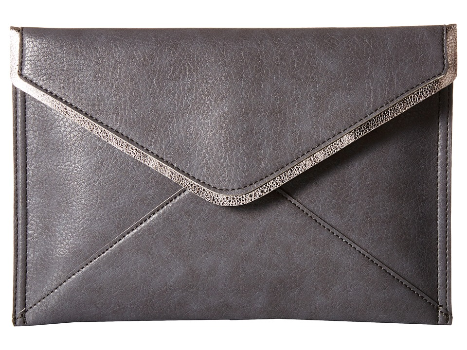 Deux Lux - Kawaii Clutch (Charcoal) Clutch Handbags