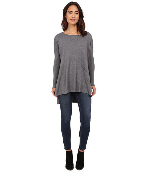 Culture Phit - Cheyenne One-Pocket Sweater (Charcoal) Women