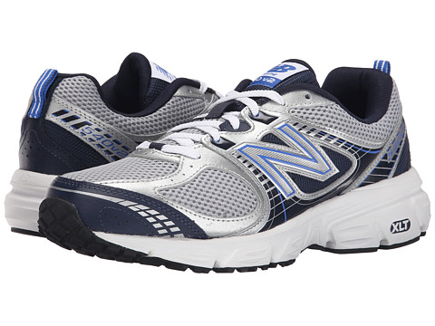 New Balance - M540NS2D (Silver/Navy) Men's Shoes