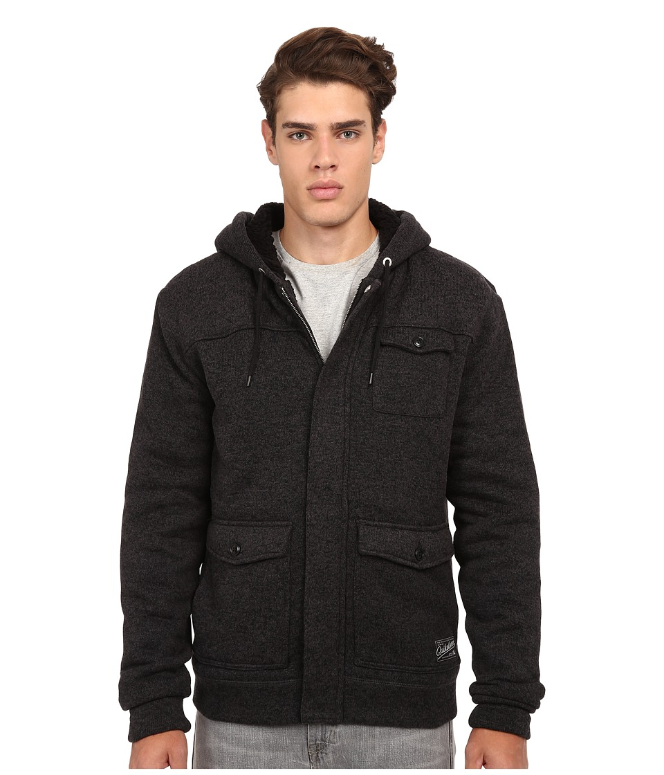Quiksilver - Keller Flacket (Anthracite) Men's Coat