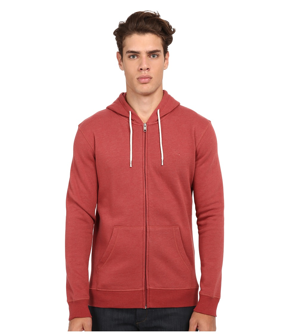 Quiksilver - Major Zip (Rosewood) Men's Sweatshirt