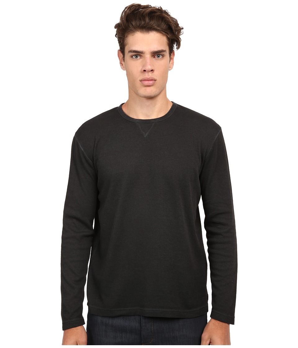 Quiksilver - Juke Thermal Top (Dark Grey Heather) Men's Clothing