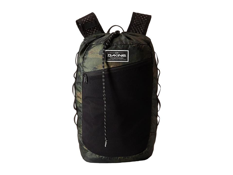 Dakine - Stowaway Rucksack 21L (Peat Camo) Backpack Bags