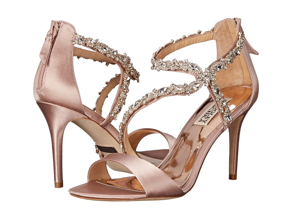 Badgley Mischka - Caress (Blush Satin) High Heels