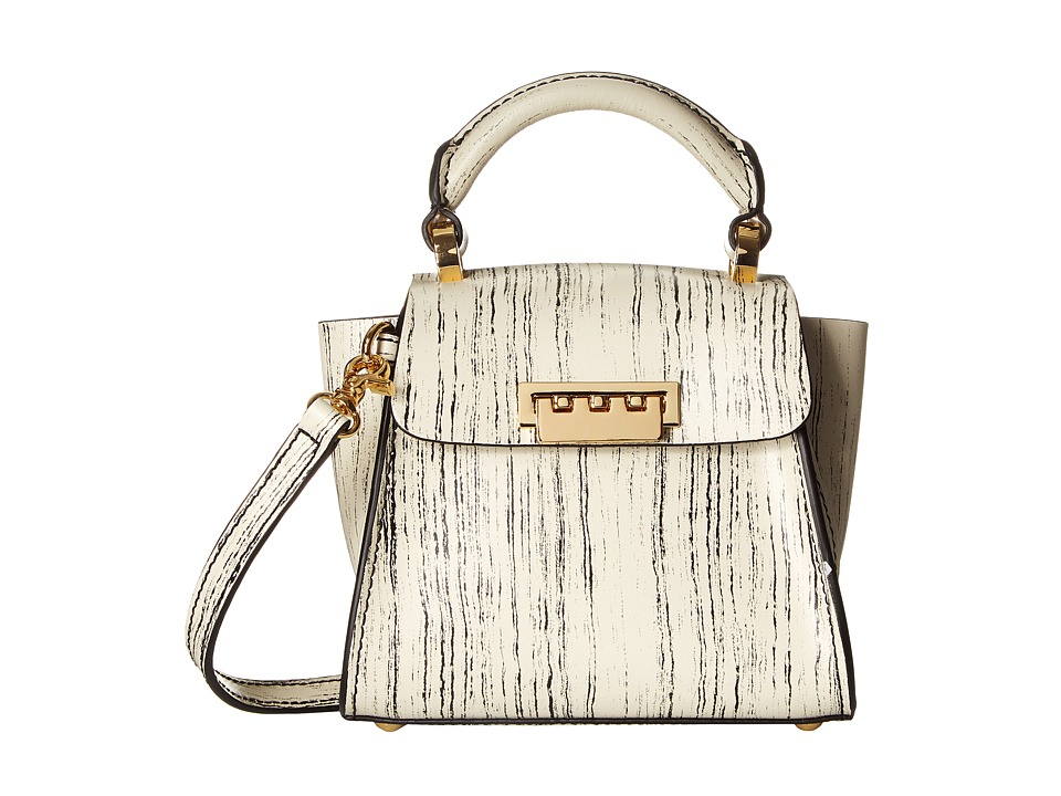 ZAC Zac Posen - Eartha Iconic Top-Handle Mini (Ivory) Cross Body Handbags