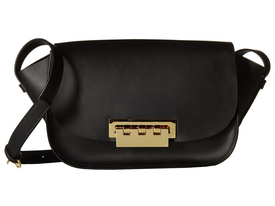 ZAC Zac Posen - Eartha Iconic Accordon Crossbody (Black) Cross Body Handbags
