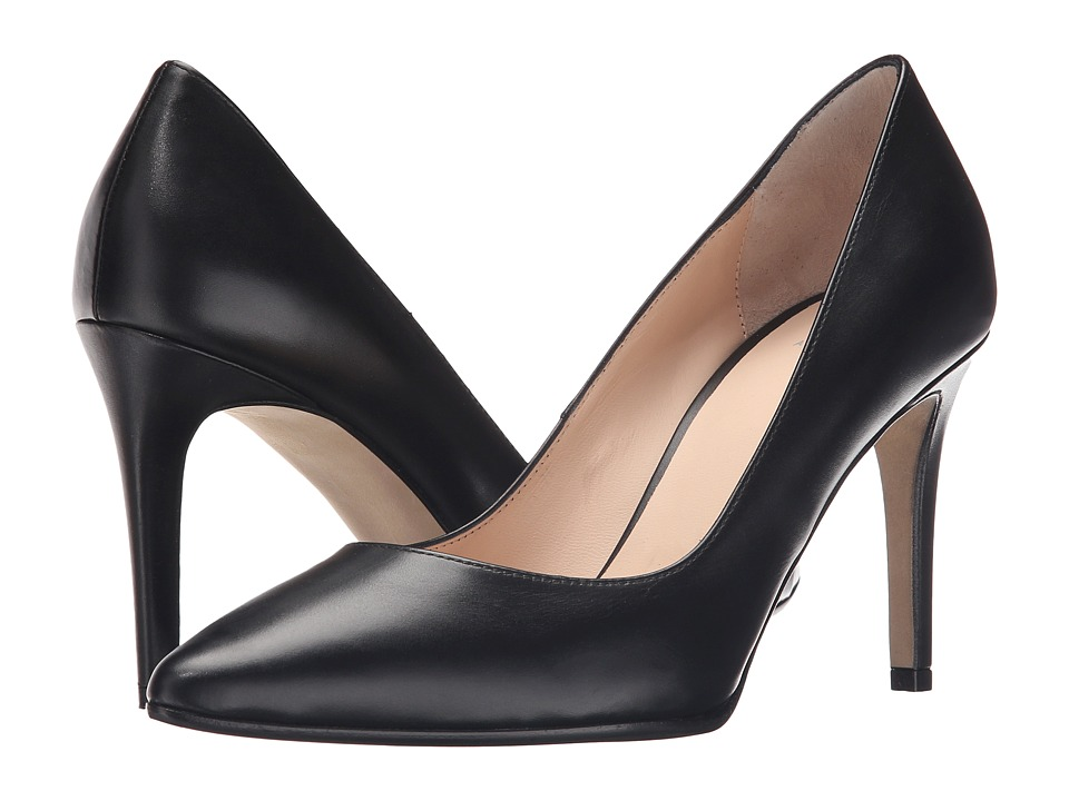 Aquatalia - Harlee (Black Anil Calf) High Heels